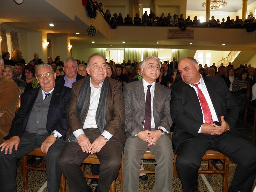 Ο Γιάννης Μπαλάφας πριν μία βδομάδα σε εκδήλωση Κεφαλλήνων του Πειραιά
