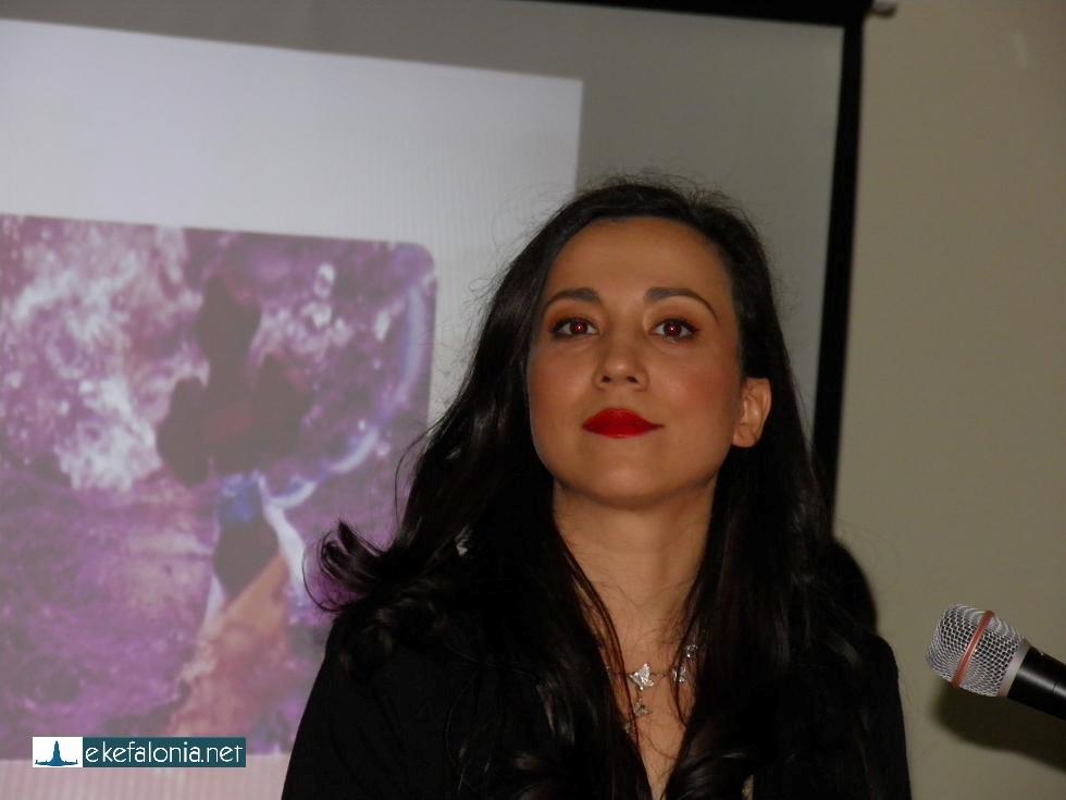 Πολλά θετικά σχόλια δέχτηκε το μέλος του ΔΣ Ρεγγίνα Μπαλτσαβιά για την πετυχημένη παρουσίαση της βραδιάς